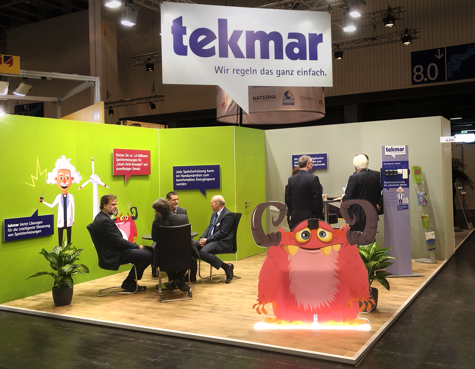 tekmar auf der E-world energy & water