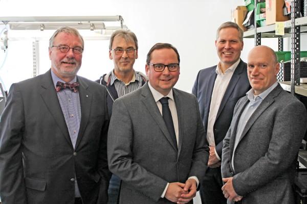 Essener Oberbürgermeister Kufen und Essener Wirtschaftsförderung EWG
